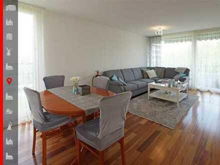 Hochwertig ausgestattete 3-Zimmer-Wohnung mit zwei Balkonen in begehrter Lage