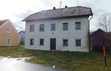 Älteres Wohnhaus im Gemeindebereich Roßbach