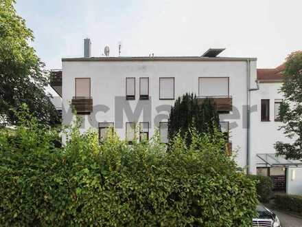Kapitalanlage in Pforzheim: Vermietete 1-Zi.-Erdgeschosswohnung mit Terrasse und 2 TG-Stellplätzen