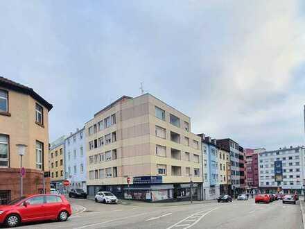 5-stöckiges MFH im Herzen von Pforzheim mit gewerblicher Nutzung im EG, über 1000qm mit Erbpacht