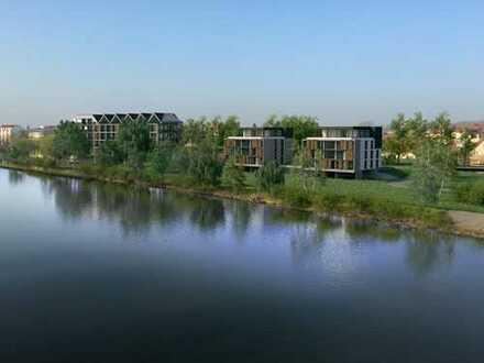 Excl. Penthaus - Neubau in direkter Lage am Main !