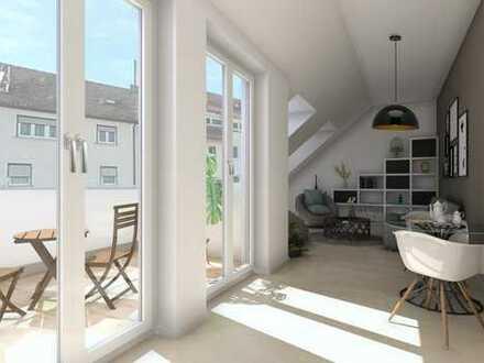 2-Zimmer-Wohnung im Dachgeschoss! Neubau! Provisionsfrei! Weitere Grundrisse verfügbar!