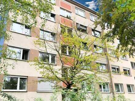Waldstadt – der grüne Karlsruher Stadtteil  Sichern Sie sich diese bezahlbare Wohnung mit Balkon
