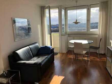 möbliertes Apartment 30qm, voll ausgestattet, mit Alpenblick München Schwanthalers Höhe