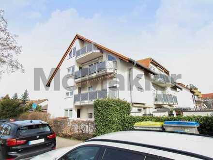 Moderne, gehoben ausgestattete Maisonette - 2 Balkone & Top-Anbindung in Neuhermsheim