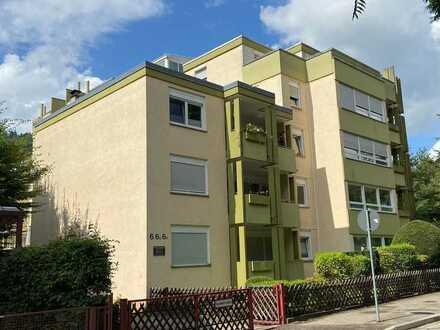 Verkauf einer schönen 2 Zimmer Wohnung in Waldkirch, Nähe Zentrum