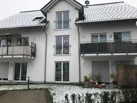 Neuwertige 2-Zimmer-Erdgeschosswohnung mit Garten und Terrasse in Obergünzburg