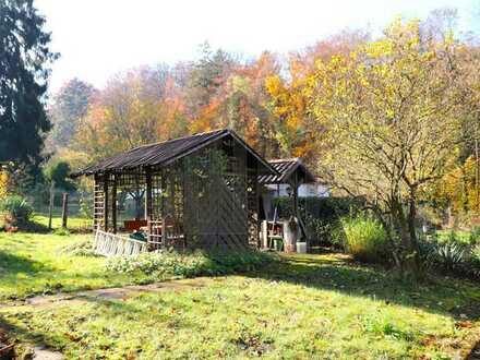PROVISIONSFREI: Weitläufiges Wochenend-Grundstück in ruhiger Waldlage von Durlach!
