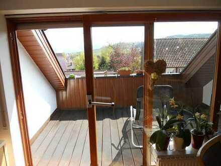 Über den Dächern von Schornbach, schöne, gepflegte 3,5-Zimmer-DG-Wohnung zum Kauf