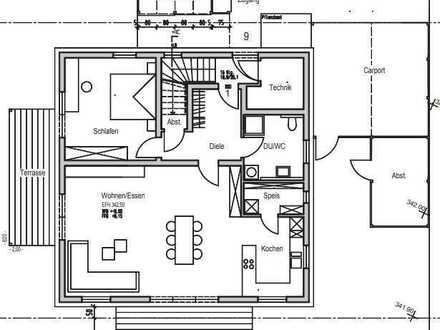 Erstbezug: schöne 2,5-Zimmer-Erdgeschosswohnung mit Garten im Waldfeld in Forchtenberg