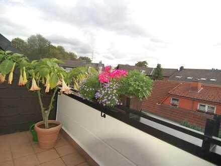 Charmante 4 Zimmer Maisonette Wohnung mit schönem Ausblick