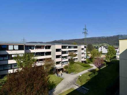 Helle und großzügige 4-Zi. Whg. mit Weitblick in Richtung Schweiz, grenznah in Rheinfelden, Herten