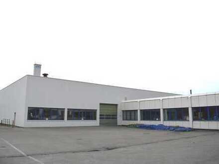 Lager- und Produktionsflächen / Werkhalle / Logistikfläche - ebenerdig mit Rolltor - ca. 4200m²