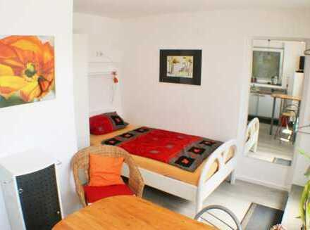 möbliertes Apartment mit Wlan, TV, Küche, Dusche/Wc, eigener Eingang in reizvoller Landsc