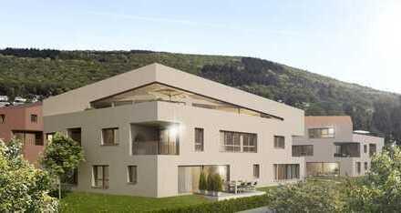 Erdgeschosswohnung mit Gartenanteil und Altstadtblick