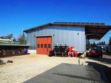 Werkstatt/Lagerhalle mit Büro im Munderkinger Industriegebiet zu verkaufen