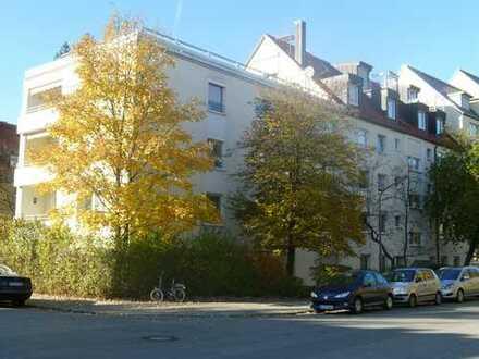 3 Zi, ruhig, hell, frei, gepflegt, TOP-Lage + -Schnitt, West-Balkon, Sendling