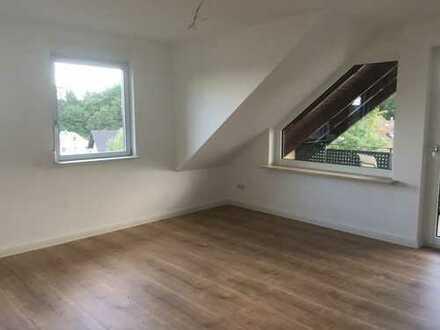 4 Zimmer DG- Wohnung + offenes Esszimmer + Loggia in Bischberg. Erstbezug nach Renovierung.