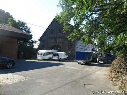 *LUST AUF GROSSZÜGIGES LANDLEBEN? Ausbaufähiger Resthof mit Nebengebäuden in Kamen-Rottum!*