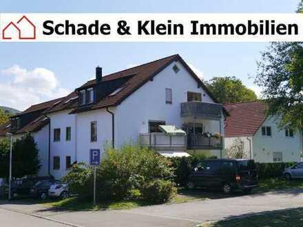 3-Zimmer-Wohnung (Grundfläche ca. 60 qm) mit TG-Stellplatz, Balkon und Einbauküche in Neuffen