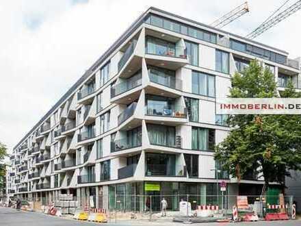 IMMOBERLIN: Toplage! Neubauwohnung mit Südwestloggia & Gartenterrasse
