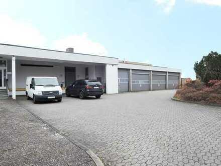 Kiel: Vermietung von Produktions- und Lagerhallen mit Büroflächen