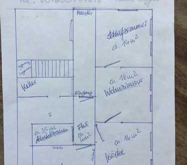 Günstige, vollständig renovierte 2-Zimmer-EG-Wohnung zur Miete in Hartenstein