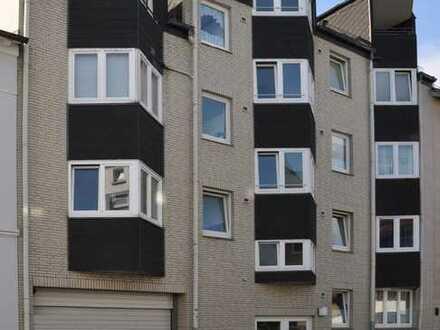 Wohnen über zwei Ebenen in der City von Harburg