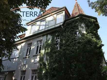 Villa mit drei Wohnungen & Nebengebäude in Bestlage von Bad Nenndorf