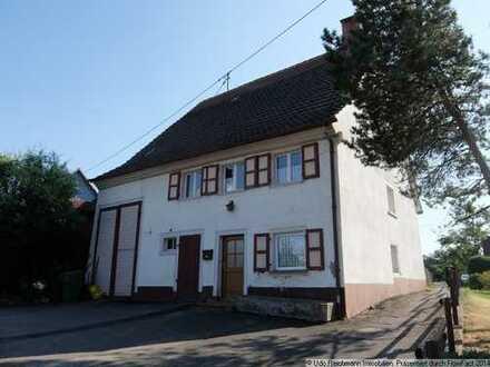 Bauernhaus mit Ökonomieteil in ruhiger Lage von DS-Neudingen