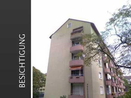 3 Zi. mit Balkon in Frankfurt