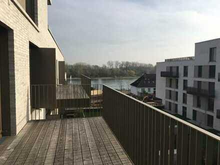 Neubau: schöne 4-Zimmer-Wohnung mit EBK, Balkon in Speyer