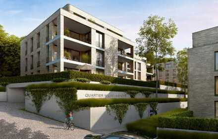 Atemberaubende 4-Zimmer-Wohnung mit Einbauküche im 2. OG mit großer Loggia im Quartier Wilhelmshöhe