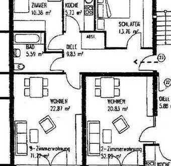 Schöne 3-Zimmer-Wohnung mit Balkon in Dresden