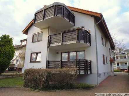 Gut geschnittene 3-Zimmer Eigentumswohnung mit Südbalkon in Wiesloch bei Heidelberg