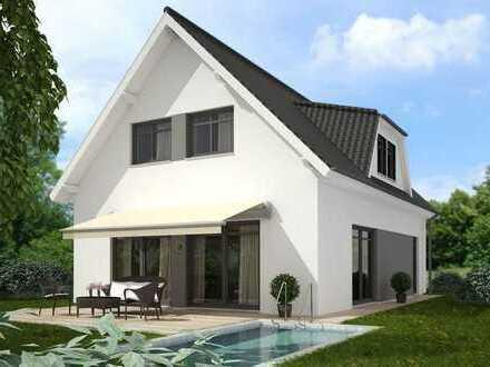 Einfamilienhaus in modernem Stil, mit großem Garten! Individuell planbar!