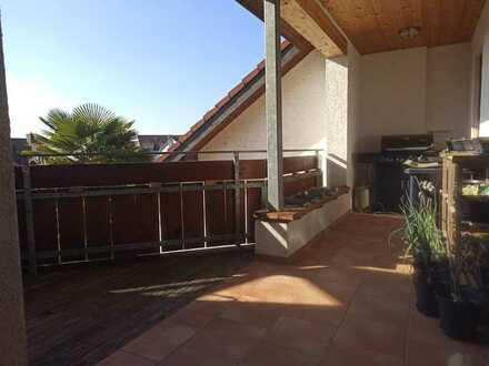 Gepflegte 3-Zimmer-Dachgeschosswohnung mit Balkon in Rheinfelden wartet auf Sie