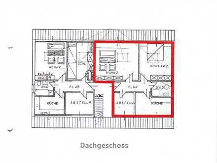 3-Zimmer-Dachgeschosswohnung mit Einbauküche in Lengerich-Hohne - Erstbezug nach Sanierung