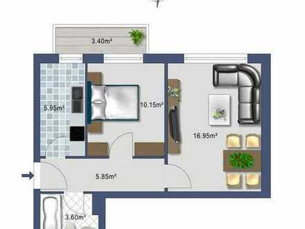 - PROVISIONSFREIE - 2 Zimmerwohnung für Kapitalanleger Nähe Olympiapark