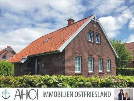 Hübsches Fehn-Friesenhaus mit Garten und Terrasse in ruhiger Lage