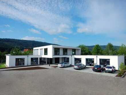 Gewerbegrundstück mit Bürogebäude, Werkstatt/Lager und Lagerhalle zu verkaufen