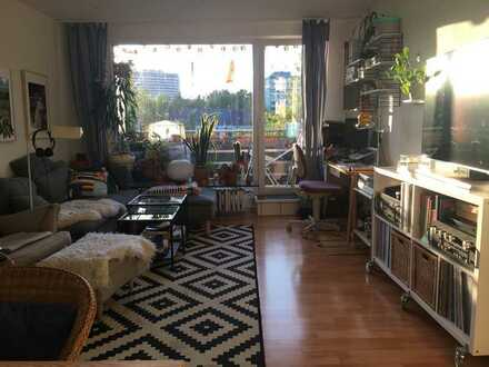Helle 2-Zimmer-Wohnung mit Balkon im Essener Süden