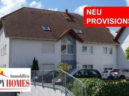 Gut geschnittene 3 Zimmer-Wohnung mit Garten, Tiefgaragenplatz, Stellplatz in ruhigem Wohngebiet