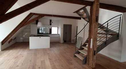 138 m² mit Loftcharakter auf zwei Wohnebenen warten zur Miete im Stadtkern von Forchheim
