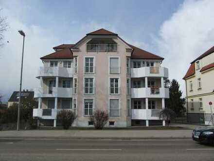 Zentrumsnahe 3-Zimmer-Wohnung mit Balkon und 2 TG-Stellplätzen in Dillingen