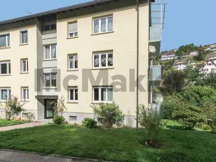 Wohnen mit dem Schwarzwald als Vorgarten: Schön geschnittene 3-Zimmer-Wohnung in idyllischer Lage
