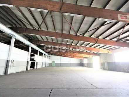 1.600 m² Halle - angrenzende Büros - viele Parkplätze - Rhein-Ruhr-Hafen!