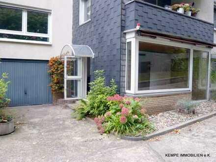 Wohnung m. großem Wohn-/Essbereich, 4 Schlafräumen, 2 Bäder, Garage - in guter Lage v. Bergerhausen