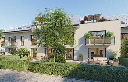 W151 Wohnoase - Hochwertiges Wohnenensemble - barrierefreie 4-Zimmer-Wohnung, 2 Terrassen und Garten