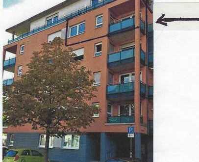 City-Park Karlsruhe helle schöne, renovierte 2-Zimmer-Wohnung mit SW Balkon + EBK + TG-Platz